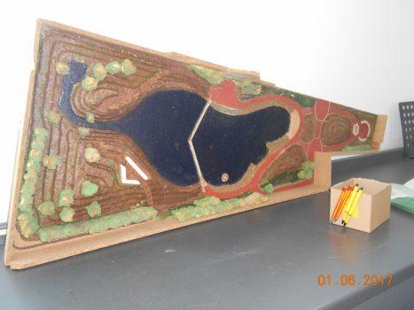 Groencafé #1 maquette watertuin